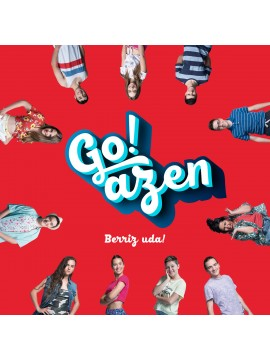 "Go!azen 4.0 ""Berriz uda!"" CD"