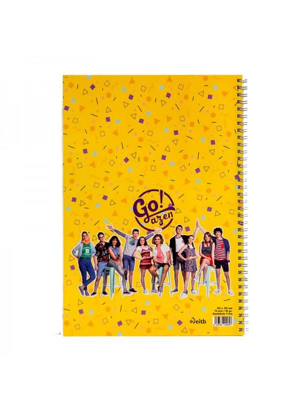 Goazen ETB cuaderno grande