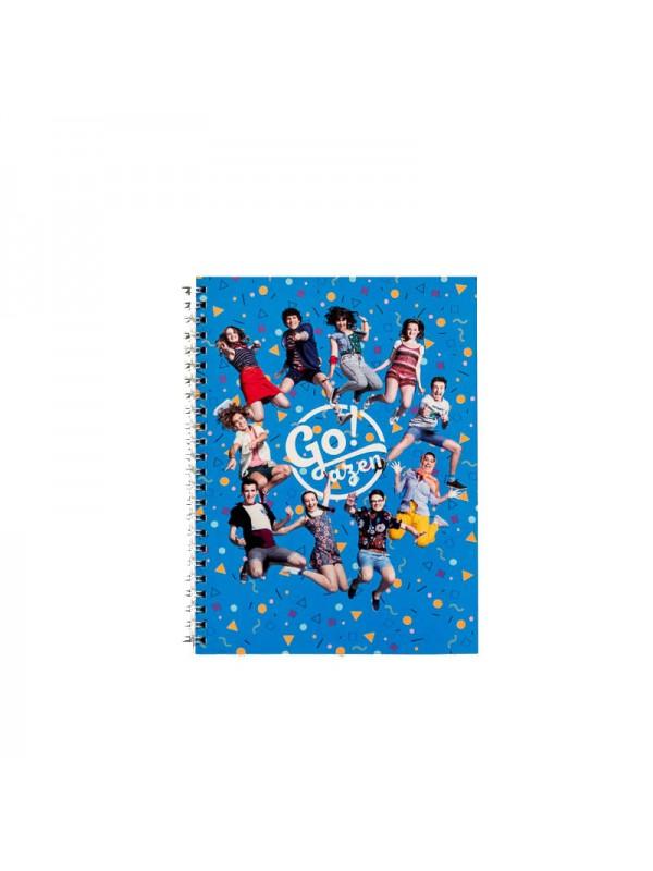 Goazen ETB cuaderno pequeño azul