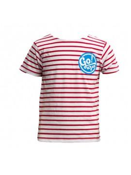 Go!azen camiseta de rayas
