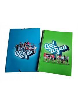 Go!azen 4.0 cuaderno y carpeta (pack)