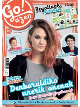 Go!azen revista oficial 3. ¡NUEVO!