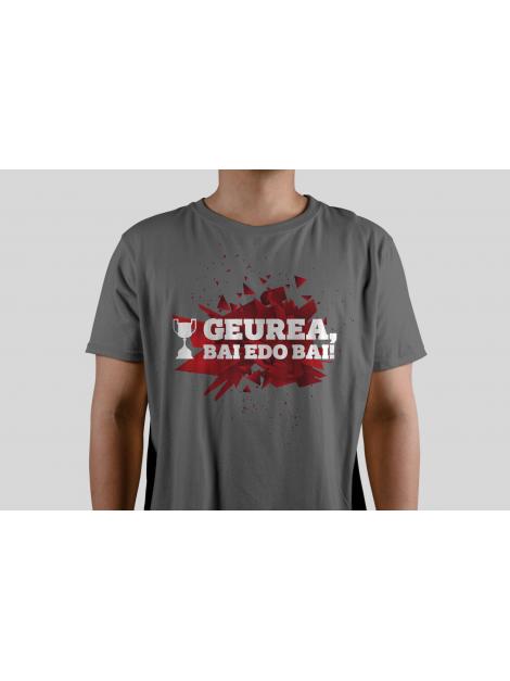 Camiseta final de Copa roja