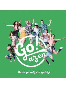 """Go!azen 5.0  """"Ondo pasatzera gatoz!"""" CD"""